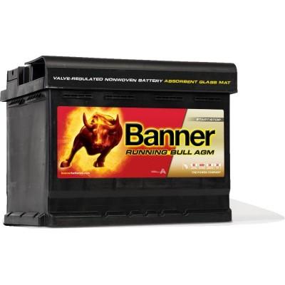 Аккумулятор BANNER AGM 60 ач