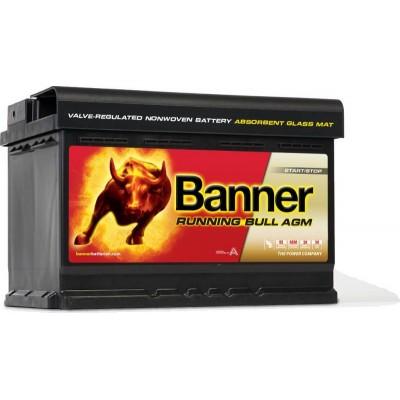 Аккумулятор BANNER AGM 70 ач