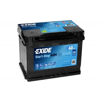 Аккумулятор EXIDE EK-600