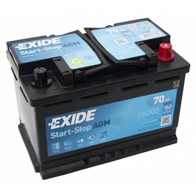 Аккумулятор EXIDE  EK700