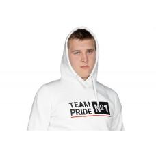 Толстовка Team Pride №1 белая
