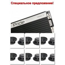 6пар Pride Solo 8 + 1 шт Pride FR4000