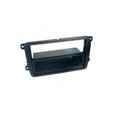 ACV C-quence 281320-10 переходная рамка магитолы 1/2Din, для SEAT Leon с10г., SKODA Fabia с07г.,